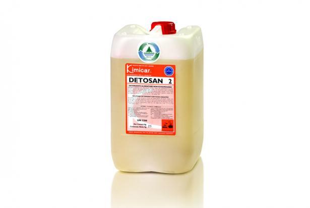 Detergente non schiumogeno per l'industria alimentare per la pulizia di interni cisterne