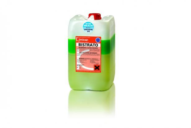 detergente autolucidante concentrato bi-componente
