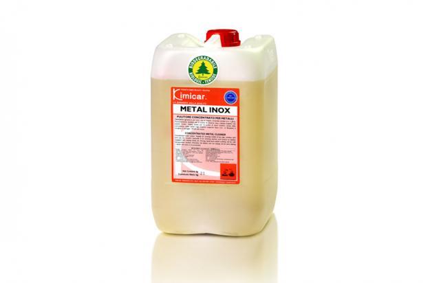 Detergente sgrassante concentrato per la pulizia di metalli, acciaio inox e ghisa