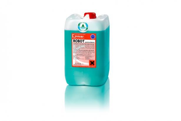 Detergente concentratoper gli impianti di lavaggio dotati di robottina