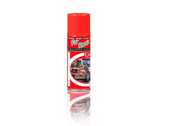 Spray che scioglie la resina e la salsedine su cristalli e carrozzeria