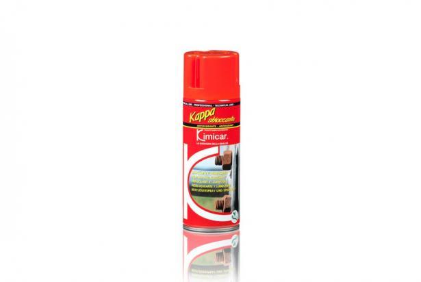Sbloccante spray ideale per sbloccare e lubrificare bulloni, viti, cerniere, guide