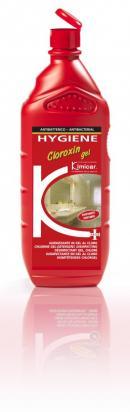 Igienizzante detergente in gel al cloro profumato