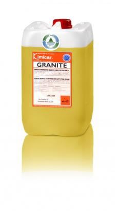 Detergente che rinnova pavimenti in granito, gres e pietra opaca