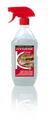 Detergente, disinfettante, inodore ed incolore per superfici