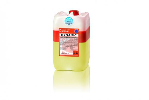 Detergente bi-componente concentrato