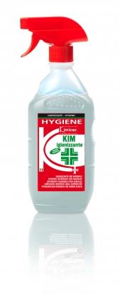 Detergente, igienizzante, inodore ed incolore per superfici