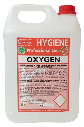 Hygienic agent based on Hydrogen Peroxid for rooms and surfaces 5.000 ml