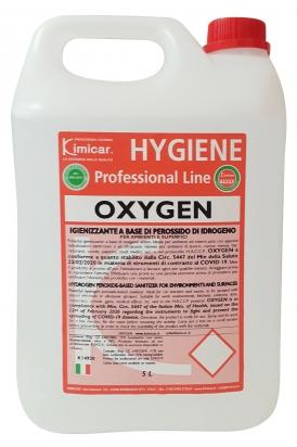 Igienizzante a base di perossido di idrogeno per ambienti e superfici 5.000 ml
